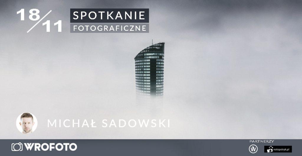 cover photo spotkania z Michałem Sadowskim